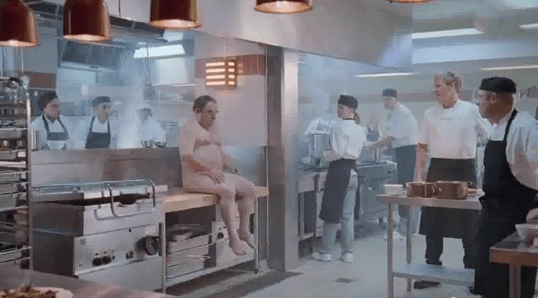 Hitze in der Küche
