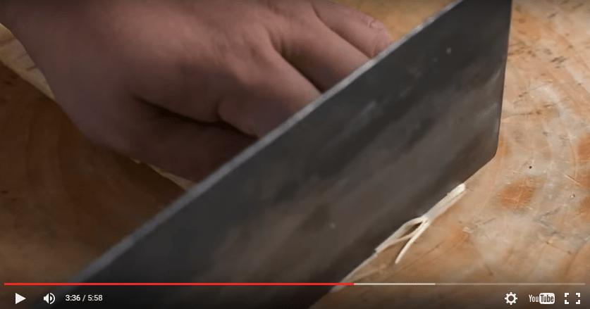 Chinesische Köche zaubern mit ihren Messern