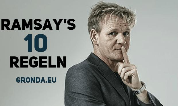 Gordon Ramsay 10 Regeln zum Erfolg