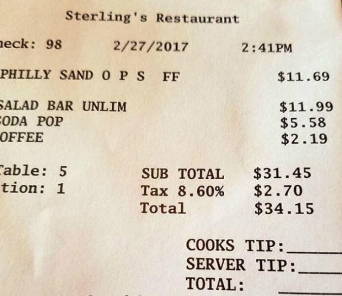 Trinkgeld aufteilen