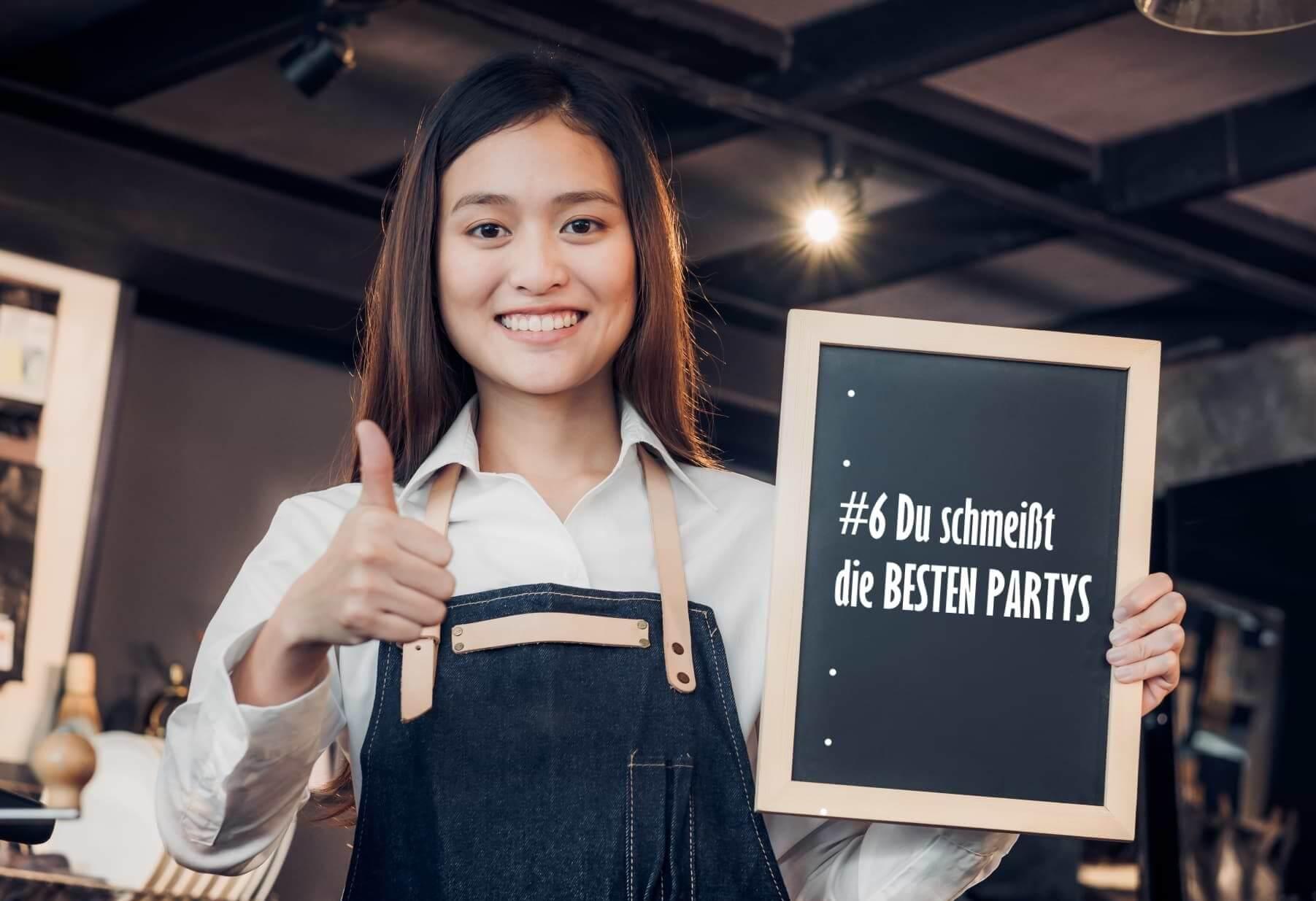Darum solltest du in einem Restaurant arbeiten [7 Gründe]