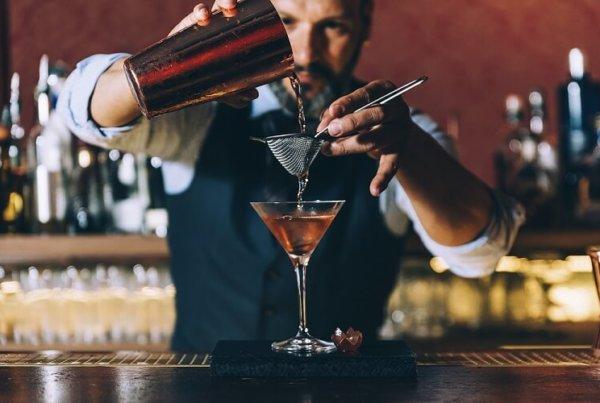 Das Gehalt eines Barkeepers