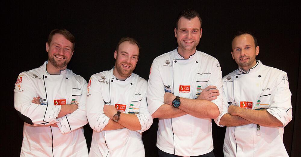Die vier Gewinner von Koch des Jahres