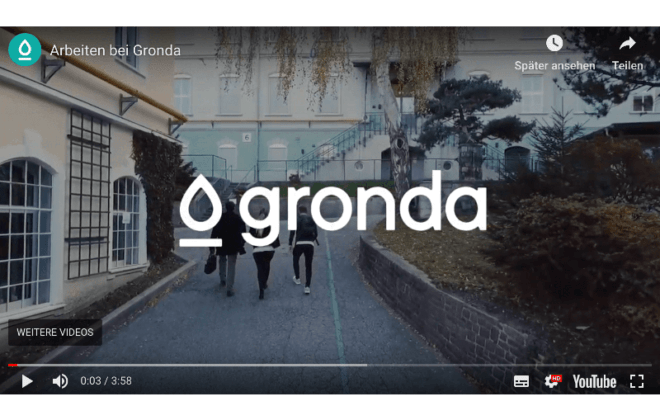 Gronda Employer Branding Video